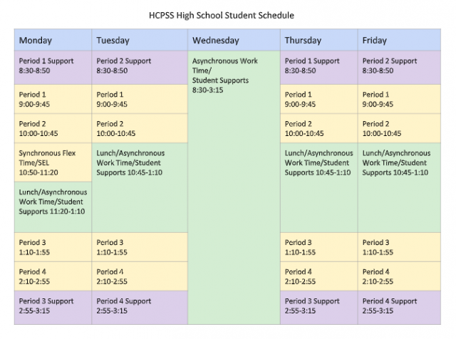 Hcpss Calendar 2021-2022 Background