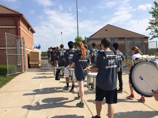MRHS band picture